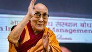 Beten für den Dalai-Lama