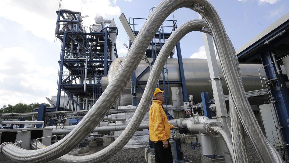 CCS-Testanlage Schwarze Pumpe: CO2-Entsorgung unter Druck