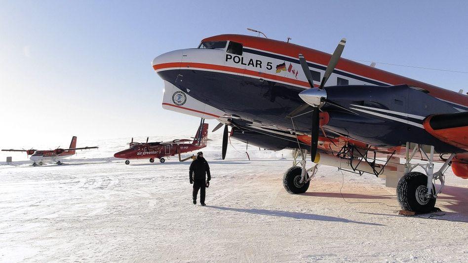 """Forschungsflieger""""Polar 5« in der Arktis »In der Gegend braucht man etwas Robustes«"""