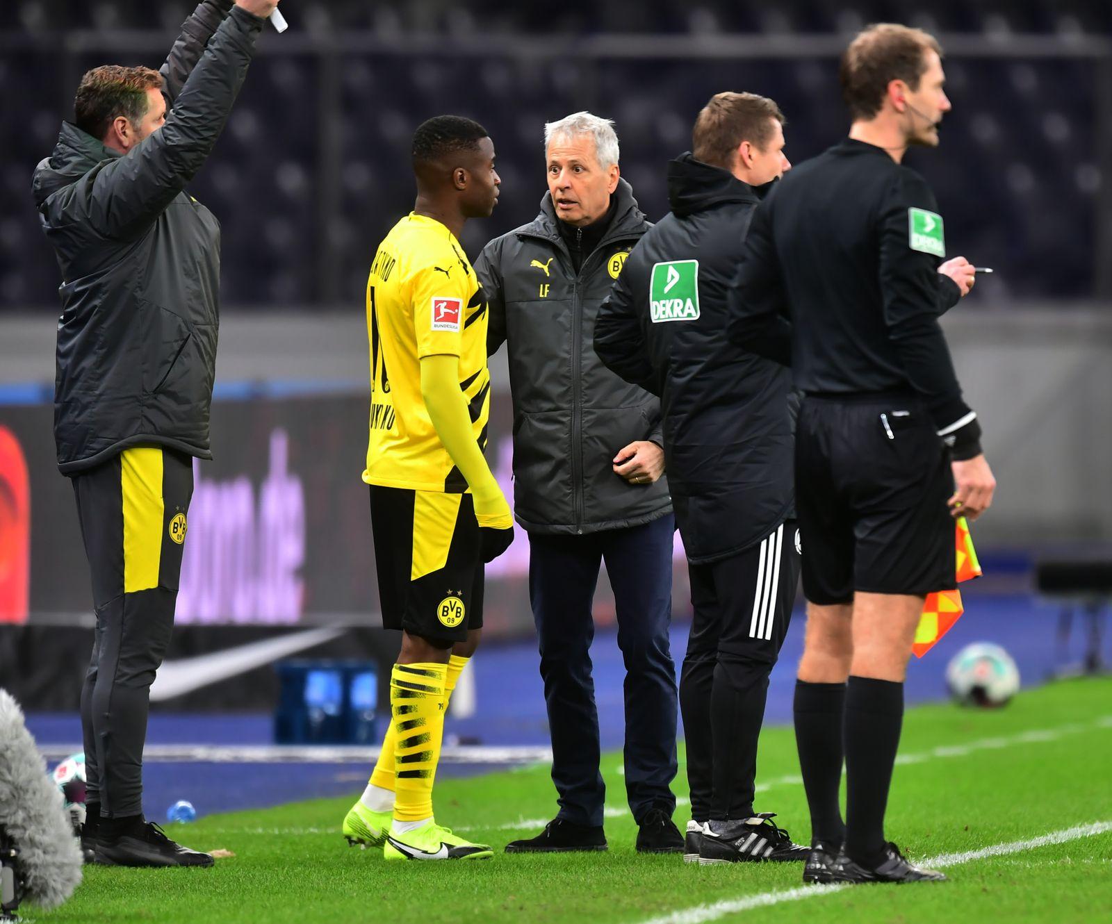 Hertha BSC Berlin vs. Borussia Dortmund, Germany - 21 Nov 2020
