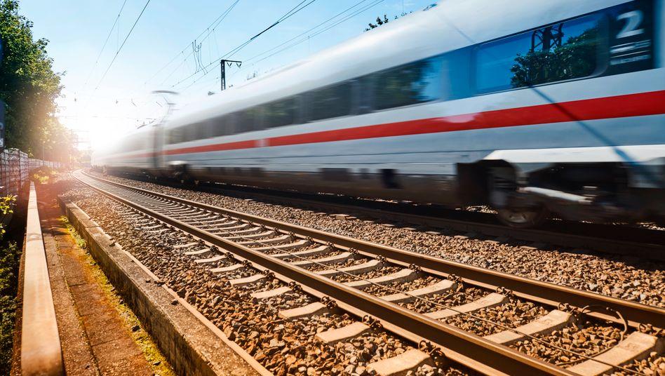 ICE-Strecke zwischen Hamburg und Hannover