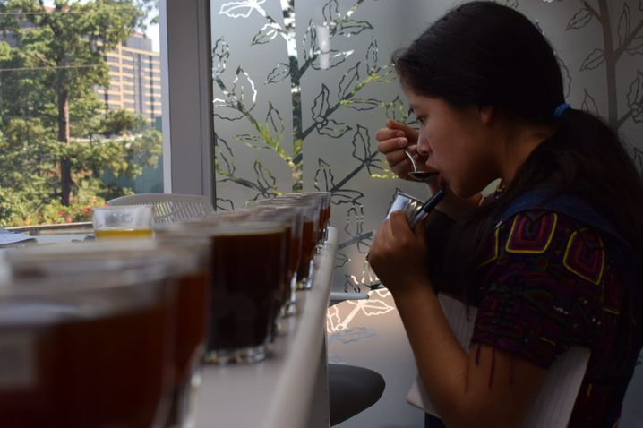 María Cedillo Chávez, 22, hopes to become known as a coffee expert.