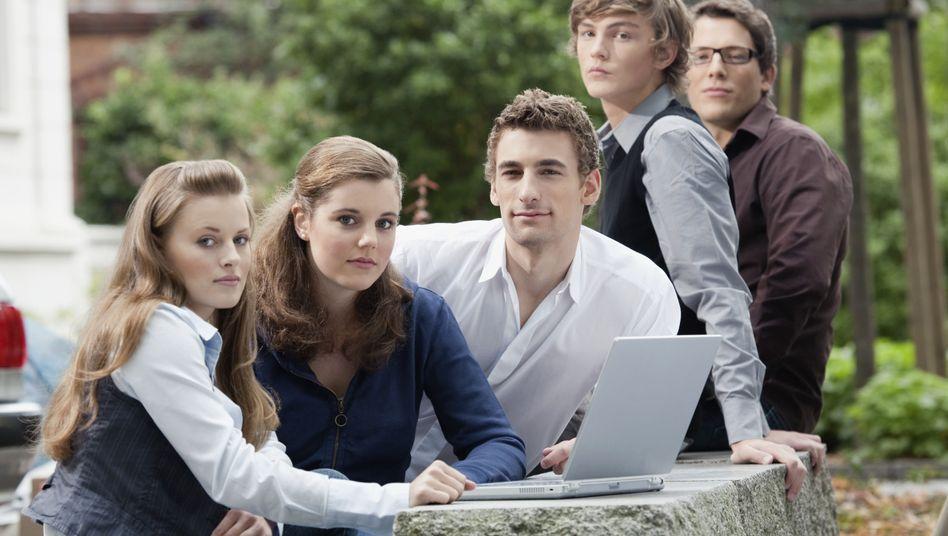 """Junge Menschen: """"Die Generation Y tritt sehr selbstbewusst auf"""""""