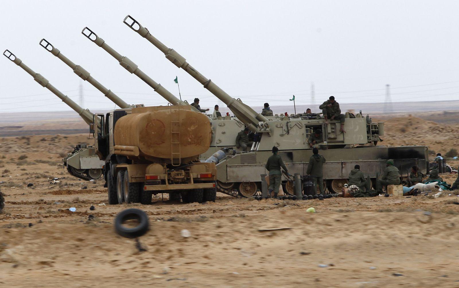 libyen artillerie info tour