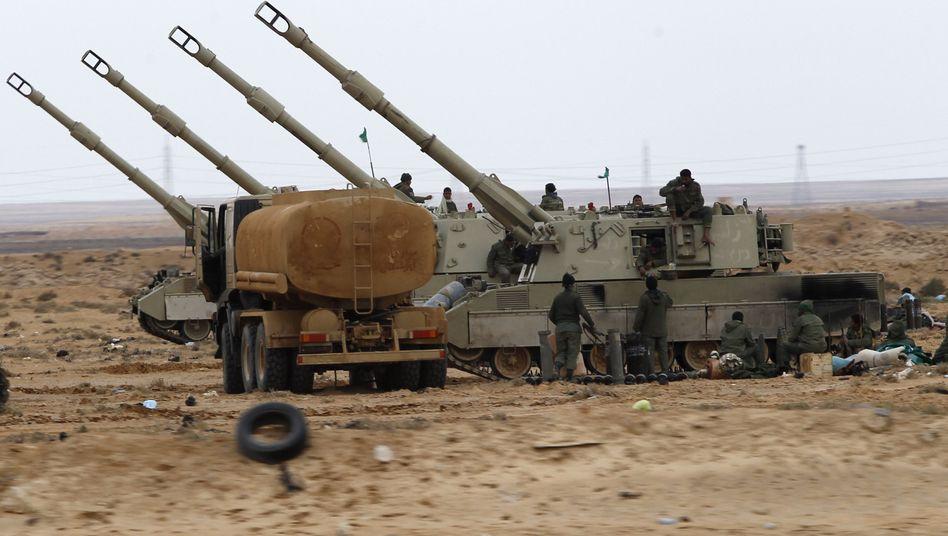 Schwere libysche Artillerie bei Adschdabija: Sicherheitsrat billigt auch Luftangriffe