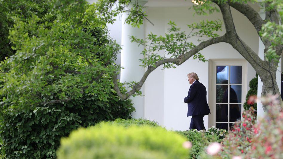 """Donald Trump im Weißen Haus: """"Und was würde dann passieren?"""""""