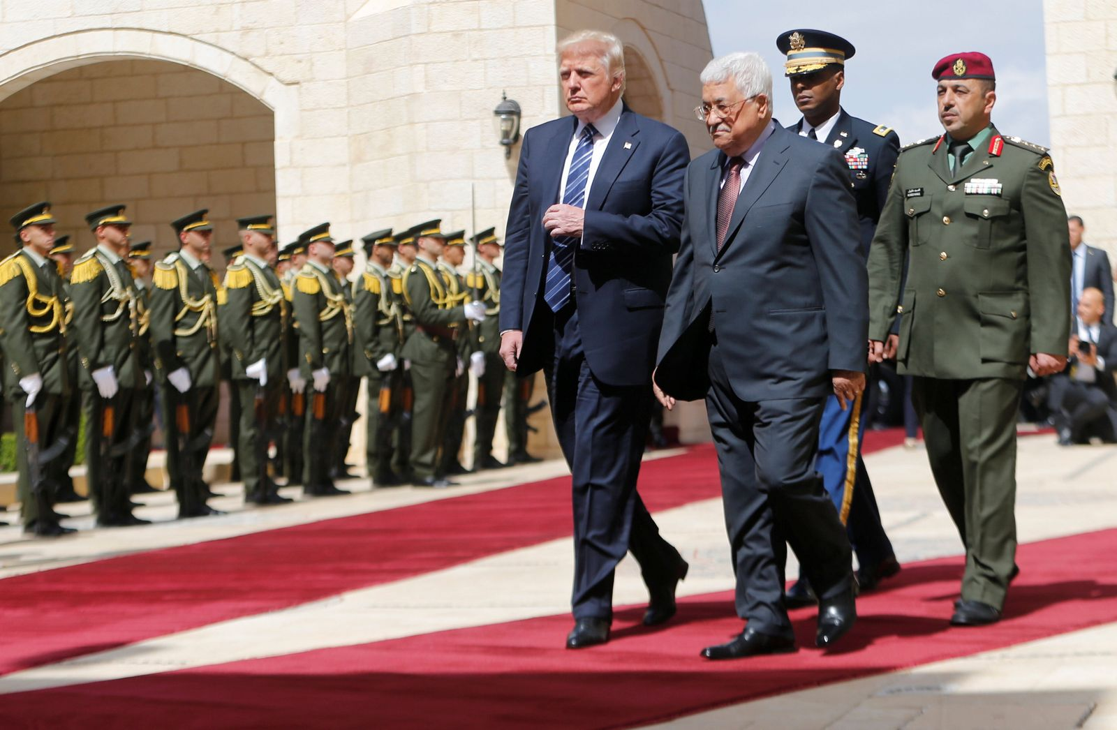Donald Trump / Mahmoud Abbas