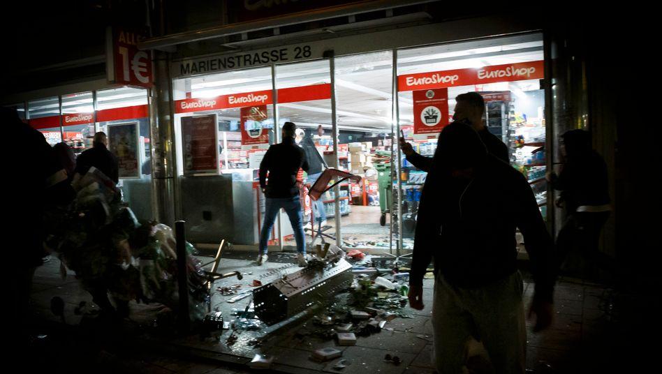 Plünderungen in Stuttgart, 21. Juni 2020