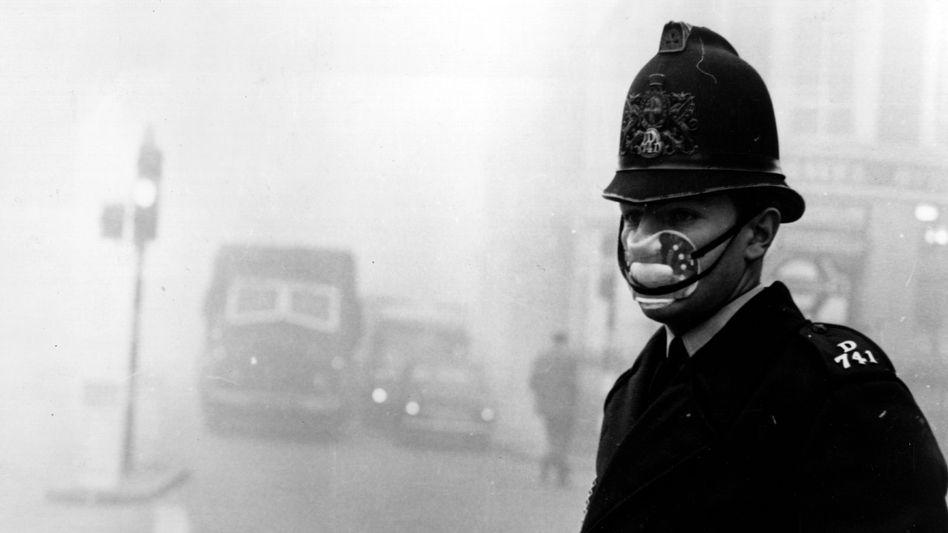 Luftverschmutzung in London (Archivbild)