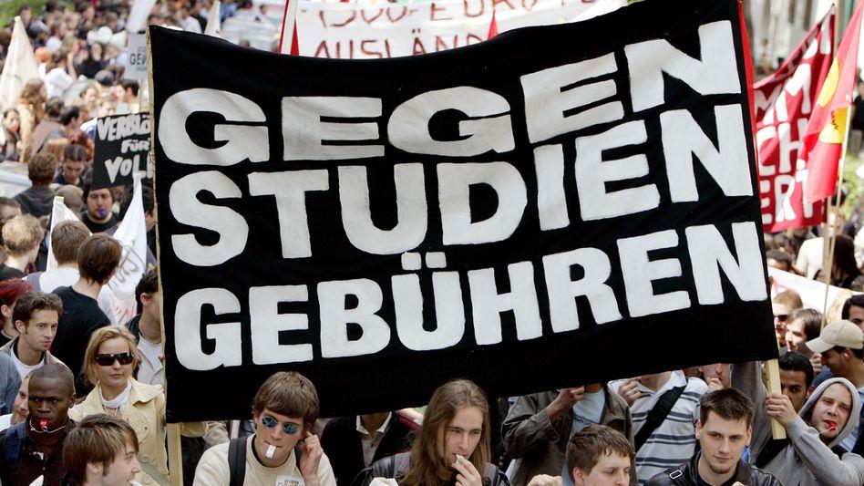 Anti-Gebühren-Proteste (2007): Die Wut war groß bei den Studenten