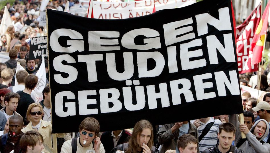 In Bayern erhört? Studentische Proteste gegen das Bezahlstudium