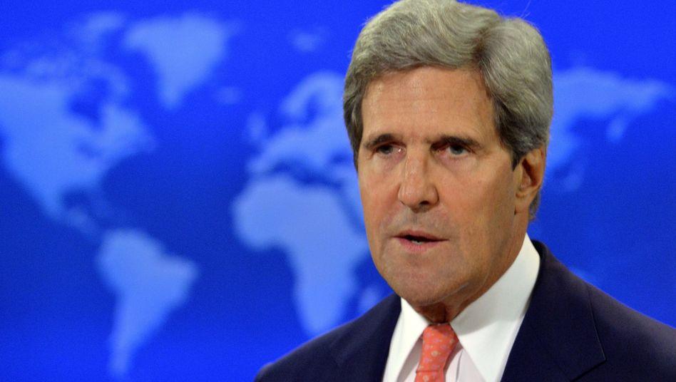 """Außenminister Kerry: """"Verstoß gegen jeden moralischen Kodex"""""""