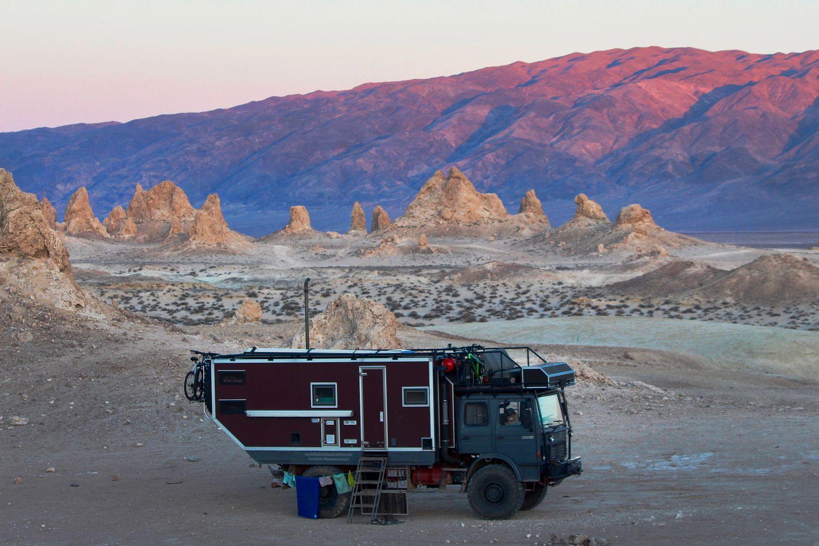 LKW Roger im Death Valley Kalifornien USA_Fotografin_Michaela_von_Bargen