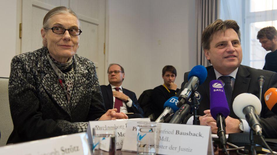 """Ingeborg Berggreen-Merkel und Winfried Bausback: """"Das liegt auch an Herrn Gurlitt"""""""