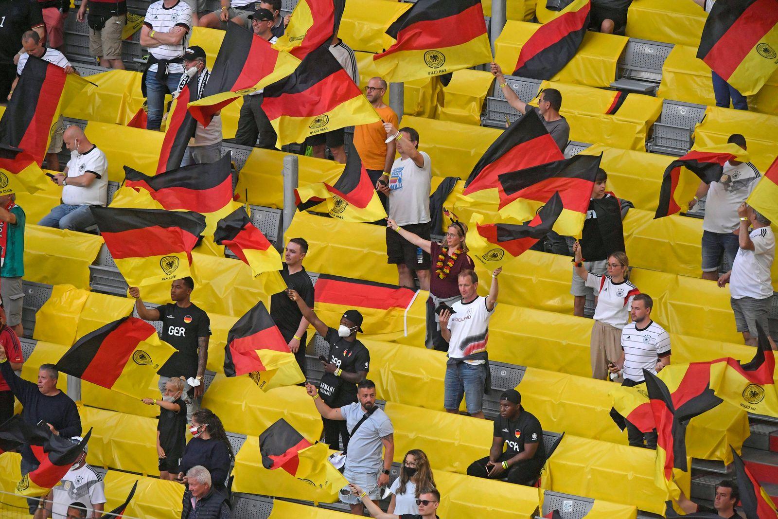 15.06.2021, Fussball, Europameisterschaft 2020, Gruppenspiel Gruppe F, Frankreich - Deutschland, in der Fu?ball Arena M¸