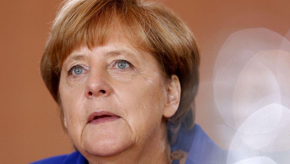 """Kanzlerin Merkel: """"Ich sage wieder und wieder: Wir können das schaffen, und wir schaffen das"""""""