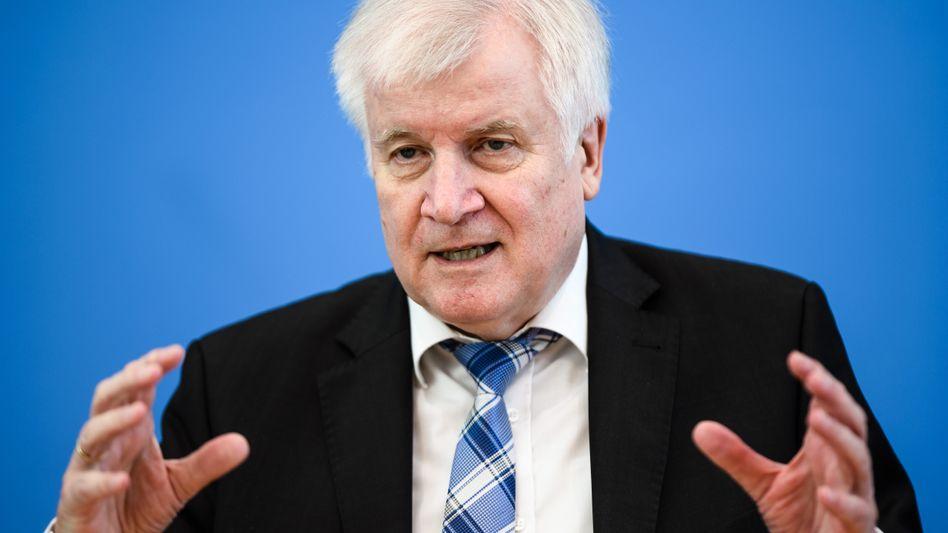 Innenminister Horst Seehofer: