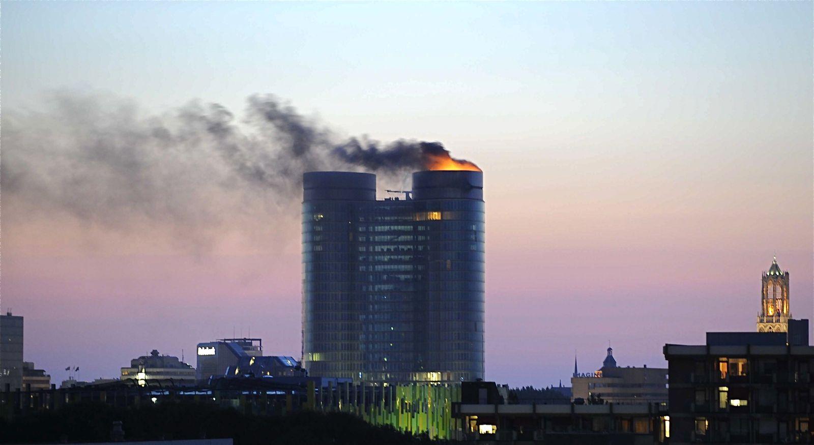 Rabobank / Explosion / Niederlande