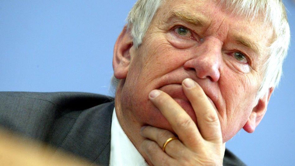 Ex-Innenminister Schily (Archivbild): Klage vom Bundesverwaltungsgericht abgewiesen