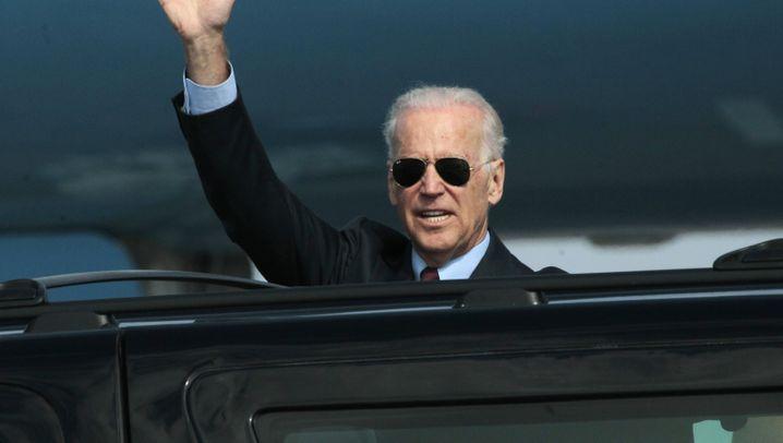 Joe Biden: Golfen mit Obama, Handschlag mit Merkel