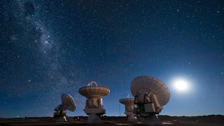 Alma-Teleskop: 66 Späher in der Wüste Chiles
