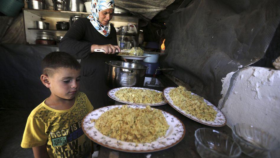 Palästinensische Familie in Chirba Susija: Die Heimat in Gefahr