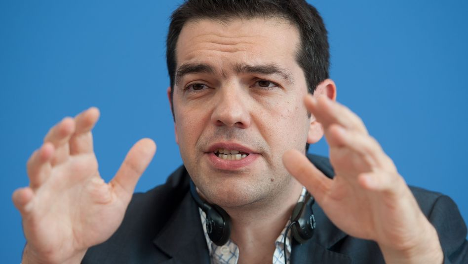 """""""We all have a duty to prevent a catastrophe,"""" said Alexis Tsipras in Berlin."""