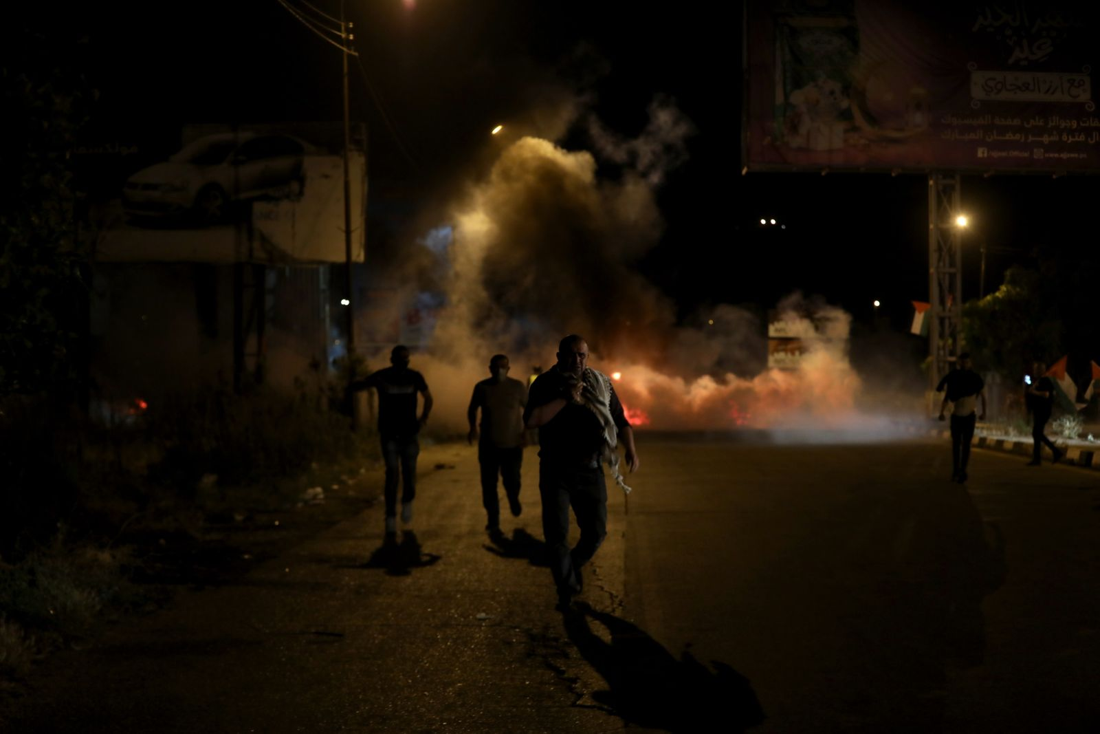 Clashes near Nablus following protests
