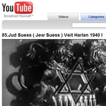 "NS-Propagandafilm ""Jud Süß"": Bei YouTube frei zum Abruf"