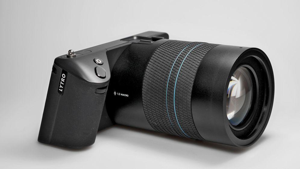 Lytro Illum im Test: So fotografiert die Lichtfeldkamera
