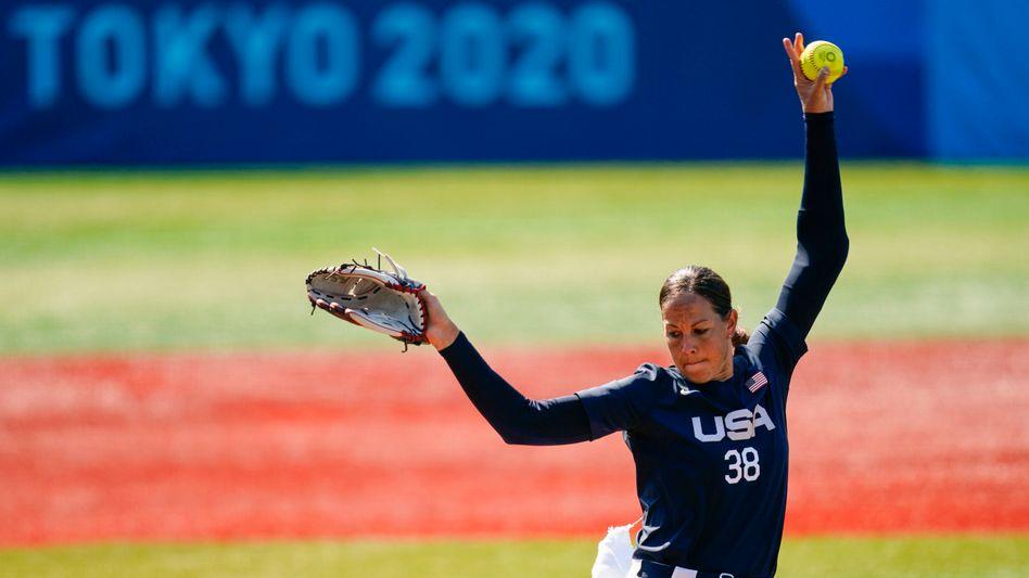 US-Starwerferin Cat Osterman: Comeback für das Softball-Comeback