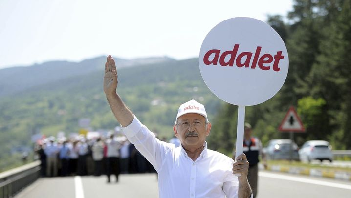 Marsch der türkischen Opposition: Der lange Weg nach Istanbul