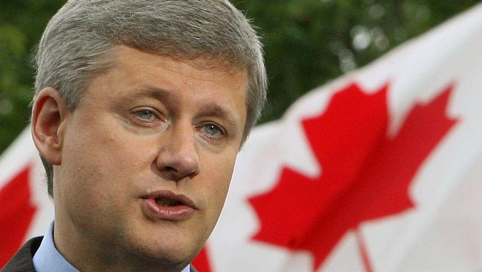 Stephen Harper: Die Opposition kritisiert Kanadas Premier wegen der Gipfeltreffen-Kosten