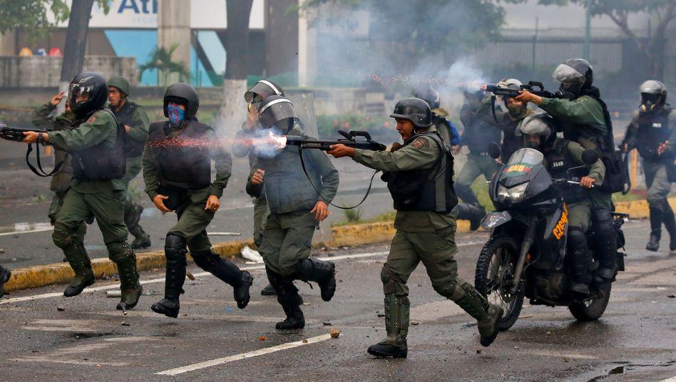 Polizei in Venezuela, Juli 2017