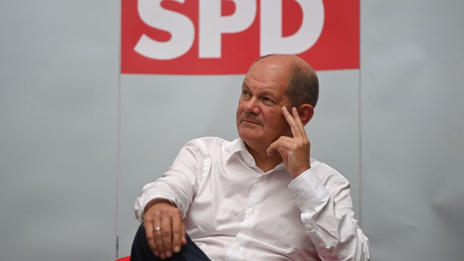 Designierter SPD-Kanzlerkandidat Olaf Scholz