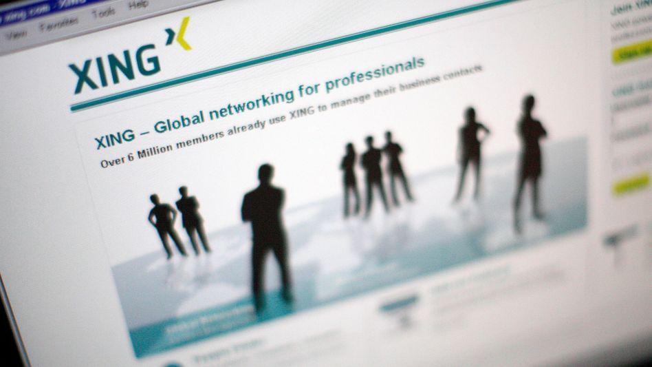 Soziales Netzwerk Xing: Raffiniert erstellte Profilfälschungen