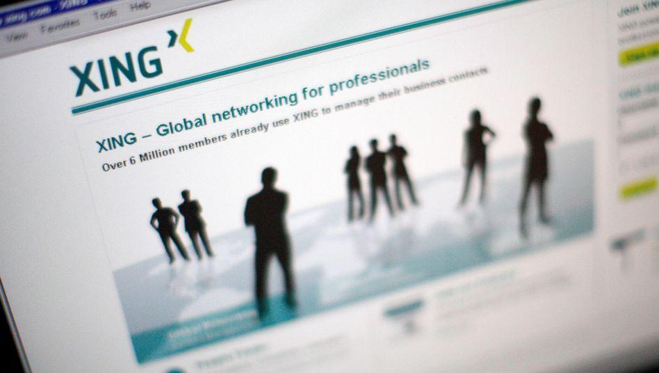 Soziales Netzwerk Xing: Das deutsche Gegenstück zum amerikanischen LinkedIn
