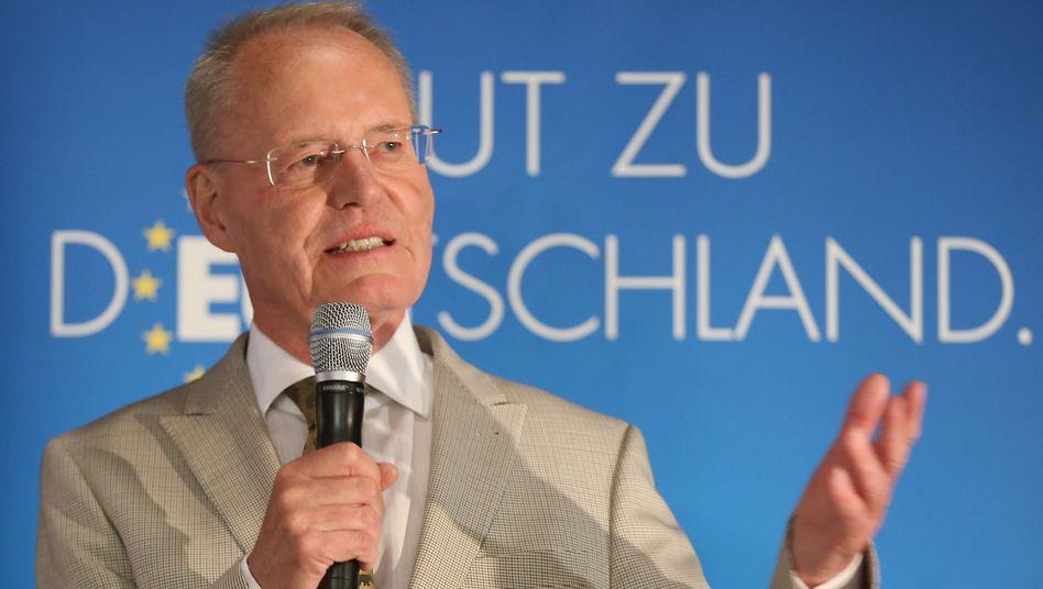 Der frühere Industriepräsident Henkel: Bereits im April als Parteivize zurückgetreten