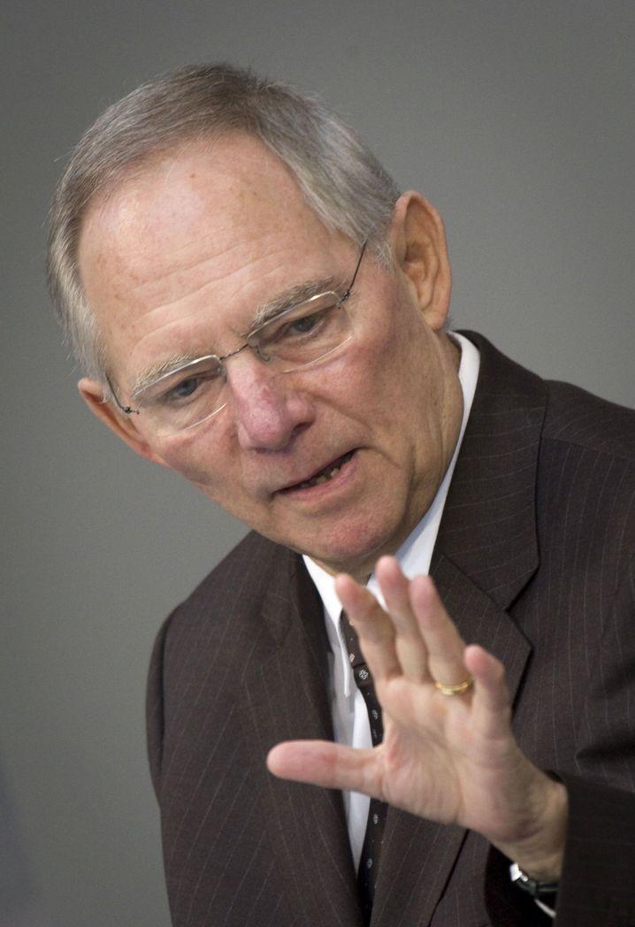 """Bundesfinanzminister Schäuble: """"Loyal, aber nicht bequem"""""""