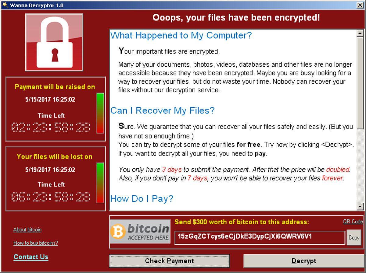 WannaCry Cyberangriff