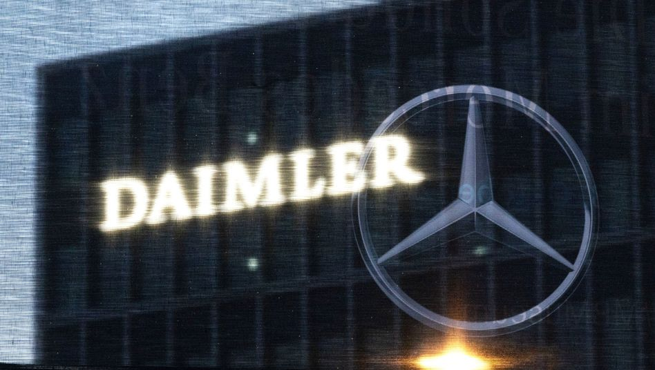 Die Zentrale der Daimler AG