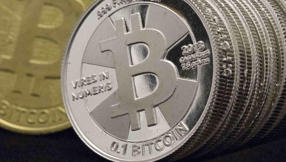 Bitcoin-Münzen, die nur Symbolwert haben: Die Börse Coinbase darf in mehreren US-Bundesstaaten mit Bitcoin handeln