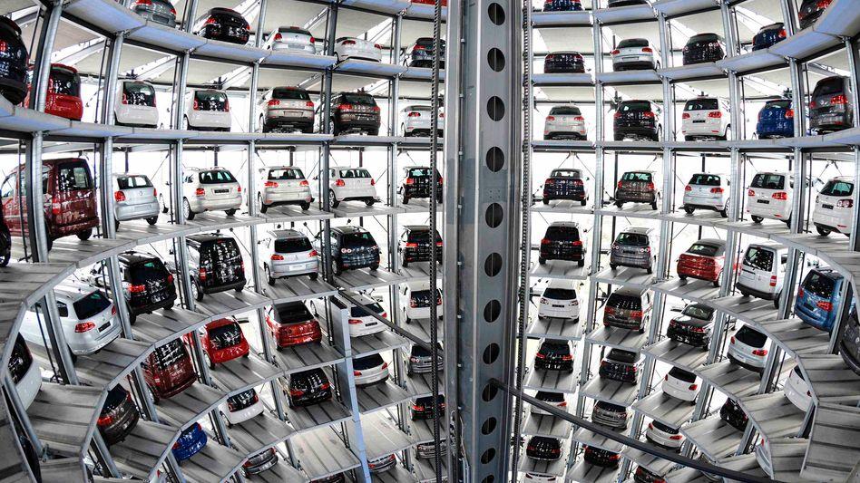 """Neuwagen von VW in Wolfsburg: """"Erheblicher Nachholbedarf"""""""