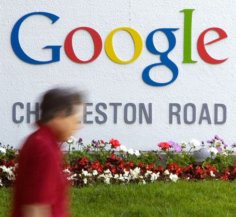 """Google-Zentrale in Mountain View (Kalifornien): In einer Reihe mit """"Aktenzeichen XY ungelöst"""" und BKA-Chef Horst Herold"""