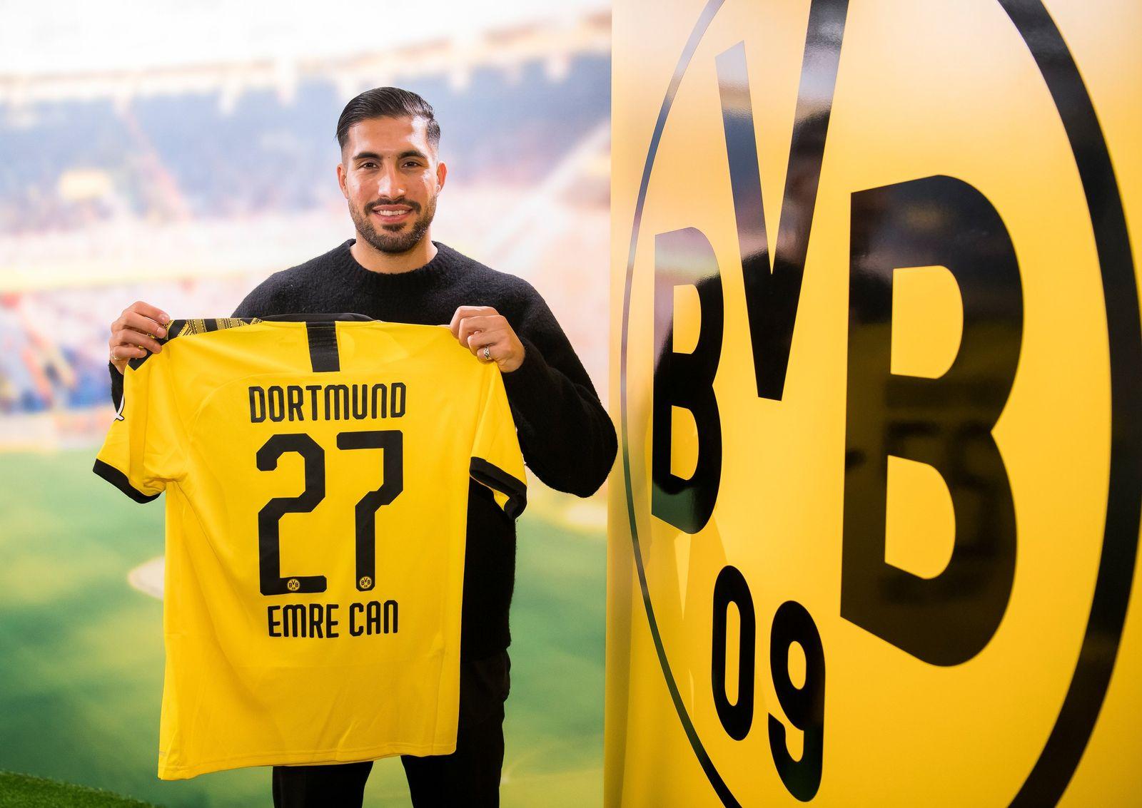 Borussia Dortmund holt Nationalspieler Can