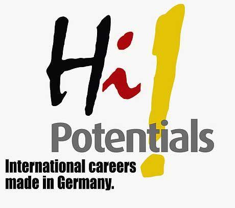 Logo der neuen Werbekampagne: Hi Potentials!