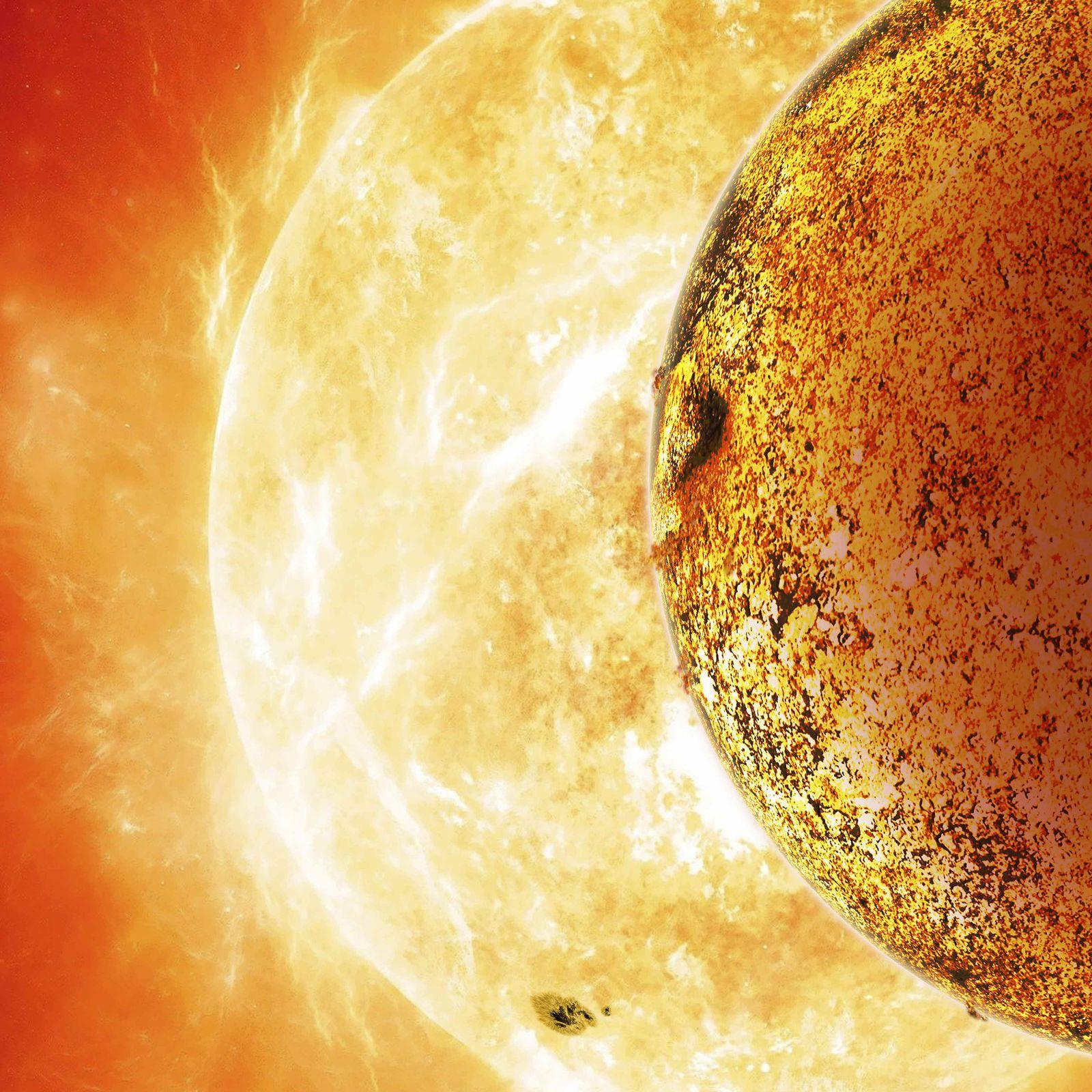 Exoplanet Kepler-78b