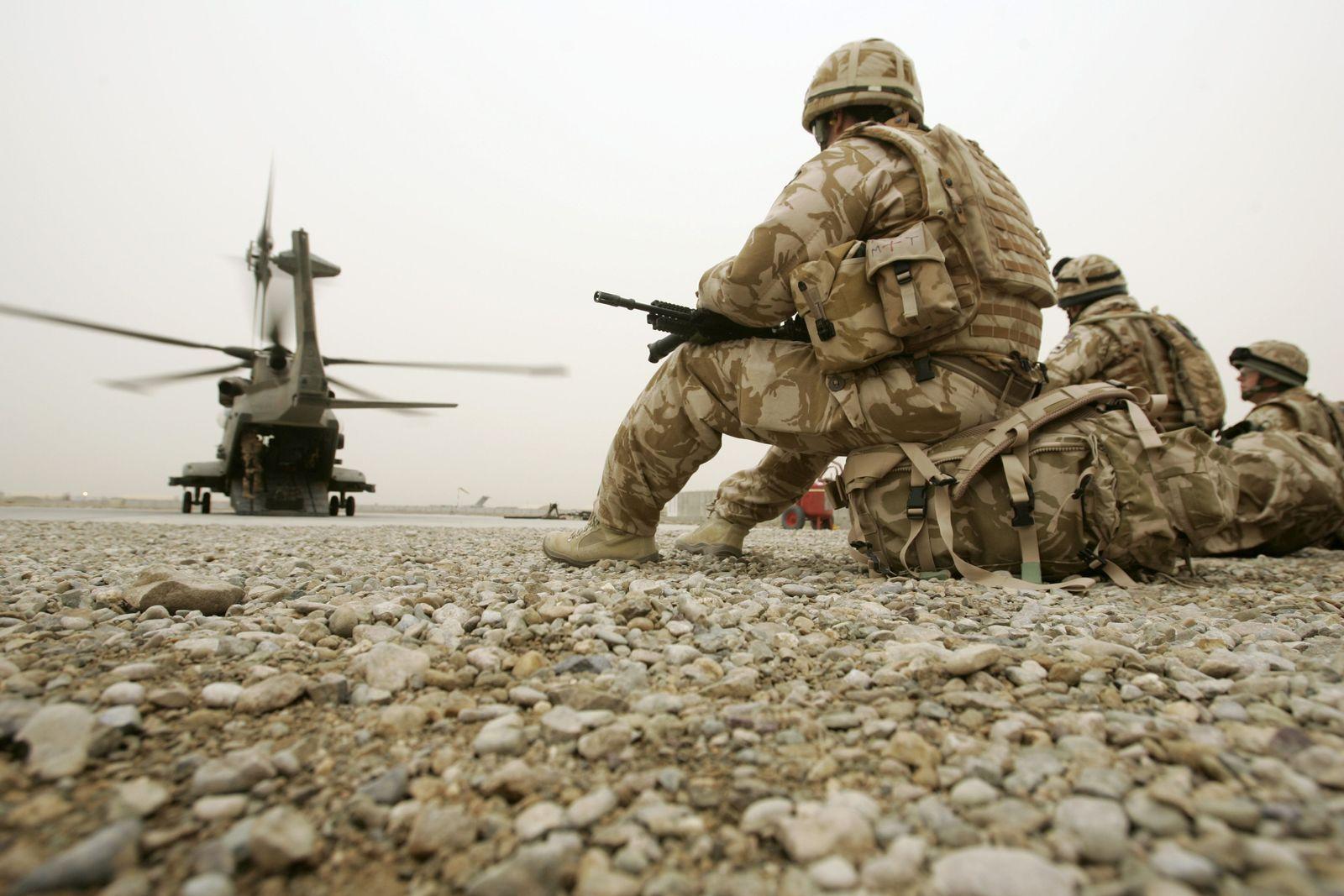 AFGHANISTAN britische Soldaten