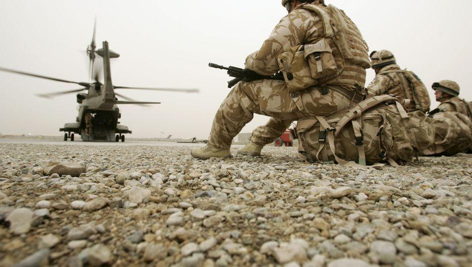 Britische Soldaten in Afghanistan (Symbolbild): Gewalttaten in der Heimat
