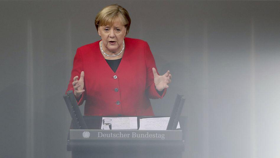 Kanzlerin Merkel: War das ihre letzte Haushaltsrede im Bundestag?